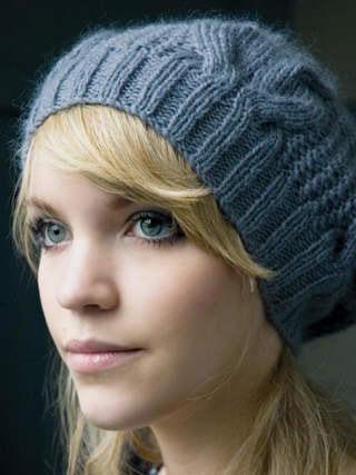 схемы вязания шапки с